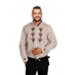 Koszula góralska parzenice haft plisa i rękawy