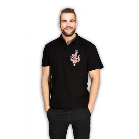 T-shirt haftowana góralska parzenica