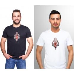 "T-shirt haftowana góralska parzenica - ""zakopiańska"""
