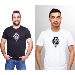 "T-shirt haftowana góralska parzenica - ""podhalańska"""