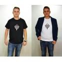 "T-shirt haftowana góralska parzenica - ""starosądecka"""