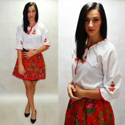 Koszula haftowane róże